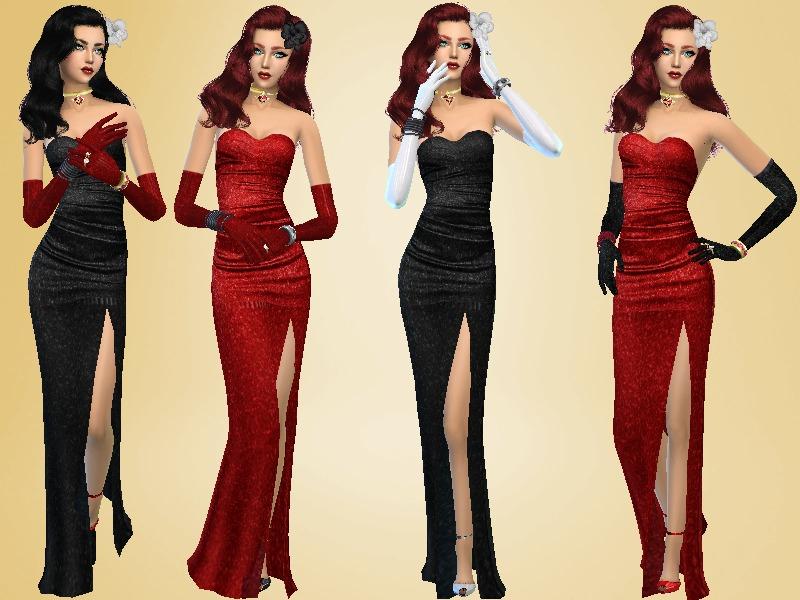 Celeste25s Dress Glamorous Golden Years