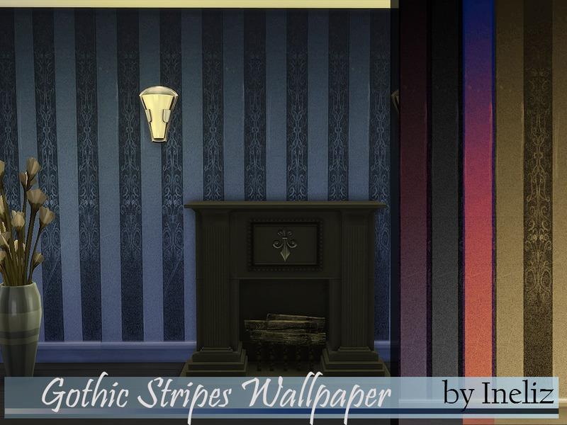 Ineliz S Gothic Stripes Wallpaper