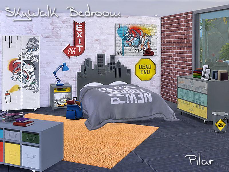 Pilar's SkyWalk Bedroom