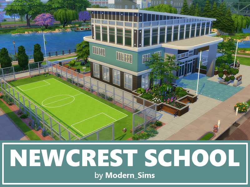 Modern Sims Newcrest School Nocc By Modern Sims