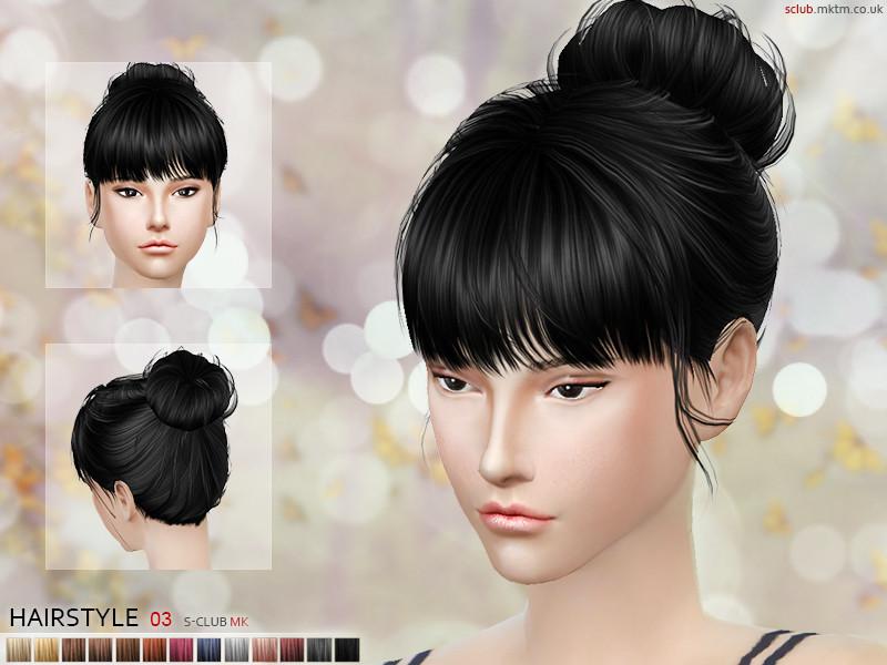 S Club Mk Ts4 Hair N3