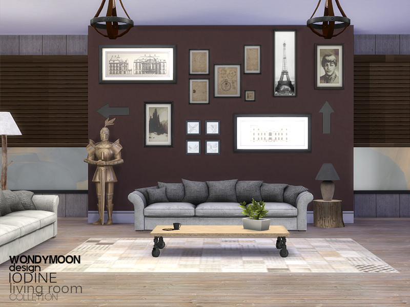 Wondymoon S Iodine Living Room