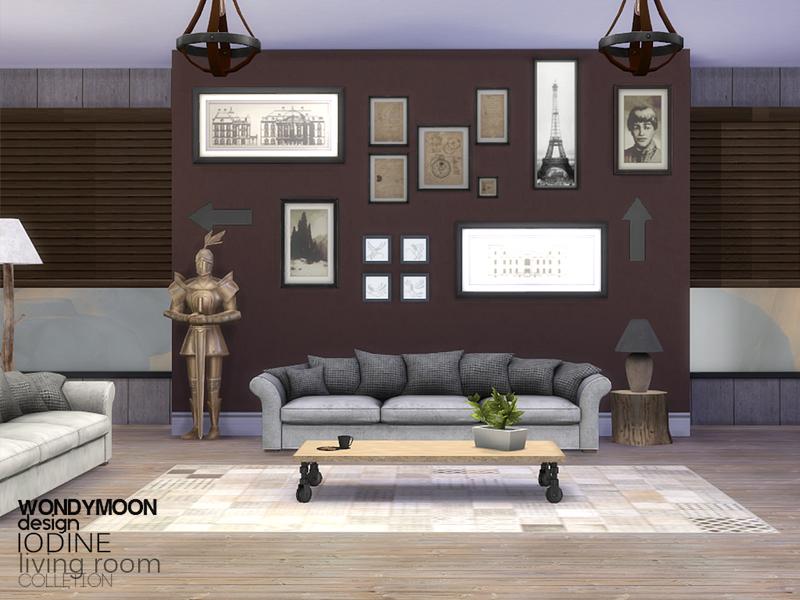 Wondymoon S Iodine Living Room