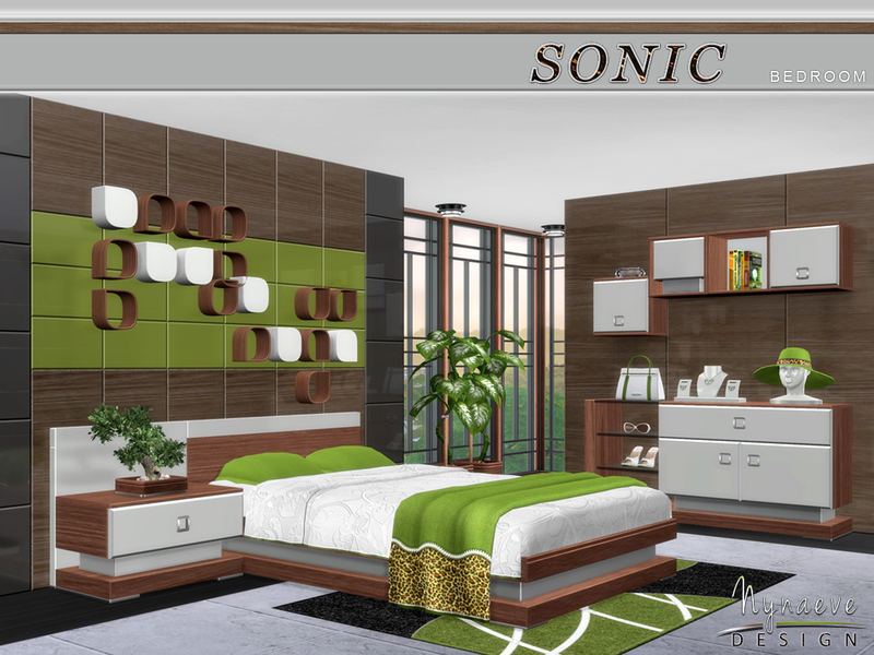 . NynaeveDesign s Sonic Bedroom
