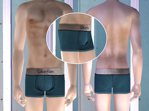Sims 2 — Calvin Klein Underwear - Acqua by CerseiL2 — They also can be used as Pj\'s. I hope you like it.