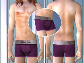 Sims 2 — Calvin Klein Underwear - Magenta by CerseiL2 — They also can be used as Pj\'s. I hope you like it.