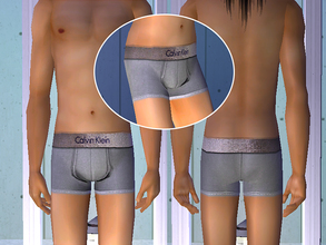 Sims 2 — Calvin Klein Underwear - Gray by CerseiL2 — They also can be used as Pj\'s. I hope you like it.