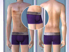 Sims 2 — Calvin Klein Underwear - Purple by CerseiL2 — They also can be used as Pj\'s. I hope you like it.