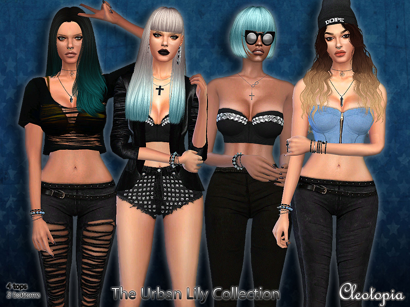 Cleotopia's Set43- The Urban Lily Collection