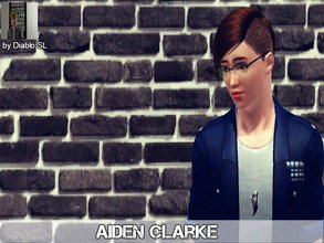 Sims 3 — Aiden Clarke by Diablo_SL — Aiden Clarke-He is a young looking,handsome boy.Many girls a dreaming about him but