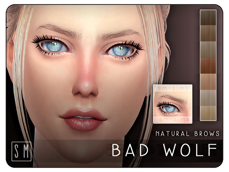 Screaming Mustards Bad Wolf Natural Brows