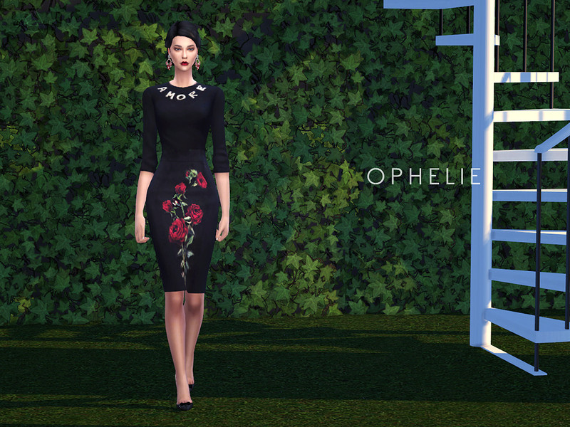 SLYD's Sweater and Pencil Skirt Set - OPHELIE