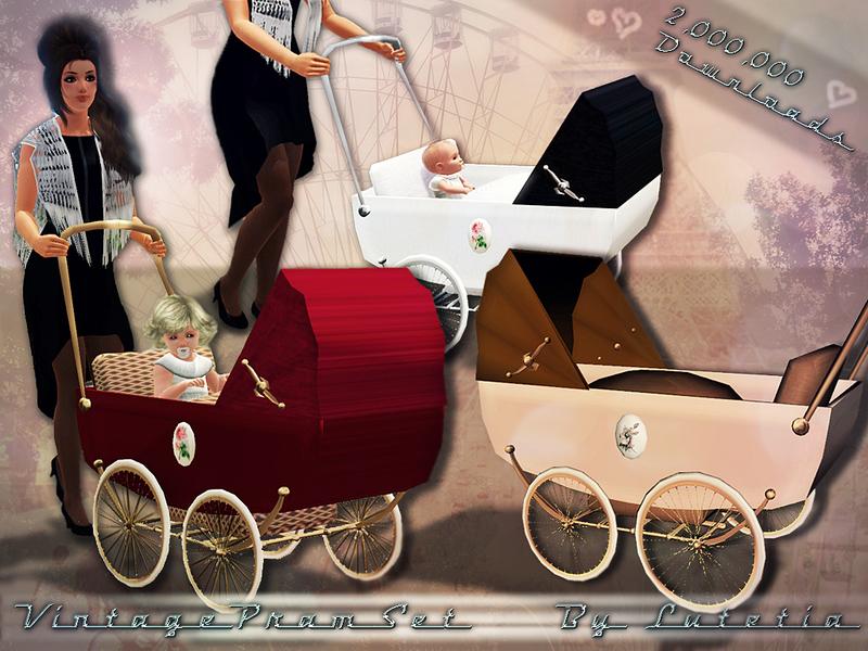 Lutetia S Vintage Pram Set Stroller