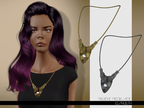 Sims 3 — LeahLilith Believe Necklace by Leah_Lillith — Believe Necklace 2 recolorable areas hope you will enjoy^^