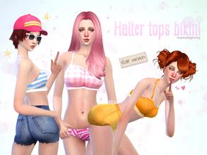 6d8bf462f8 manueaPinny - Halter tops bikini
