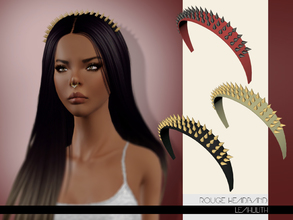 Sims 3 — LeahLilith Rogue Headband by Leah_Lillith — Rogue Headband 2 recolorable areas hope you will enjoy^^