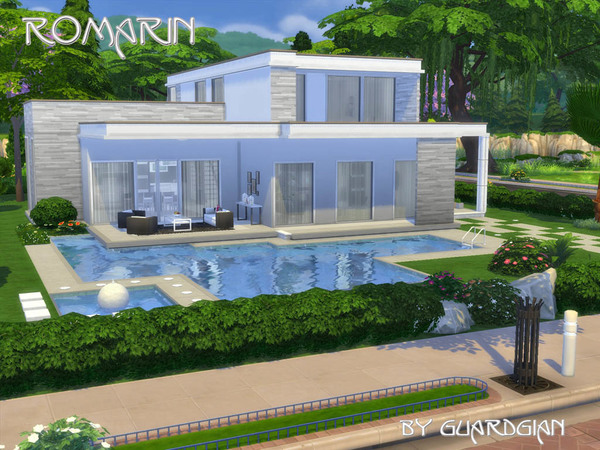 Guardgian 39 s romarin for Modernes haus sims