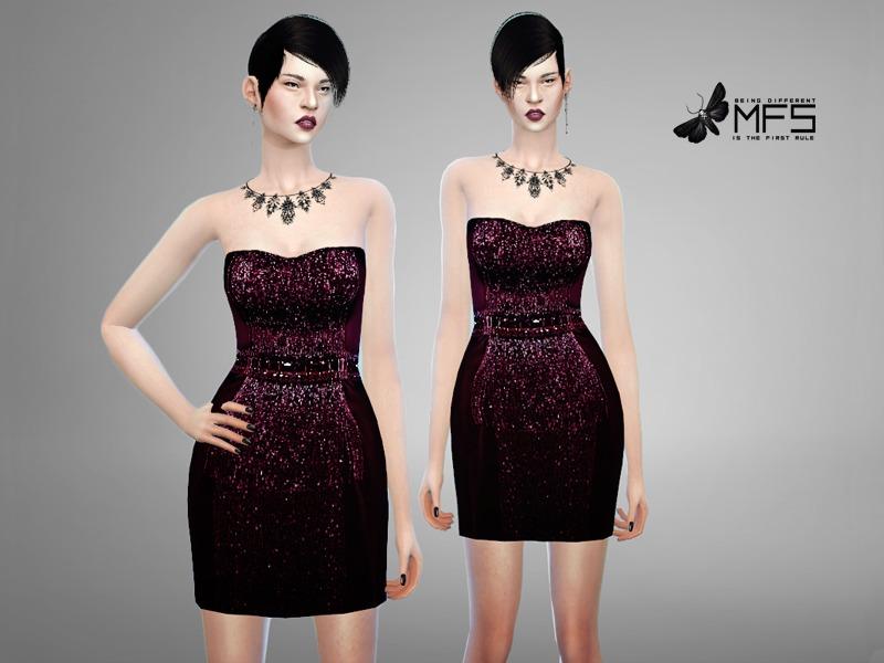 5ef93207 MissFortune's MFS Sequin - Dress 1