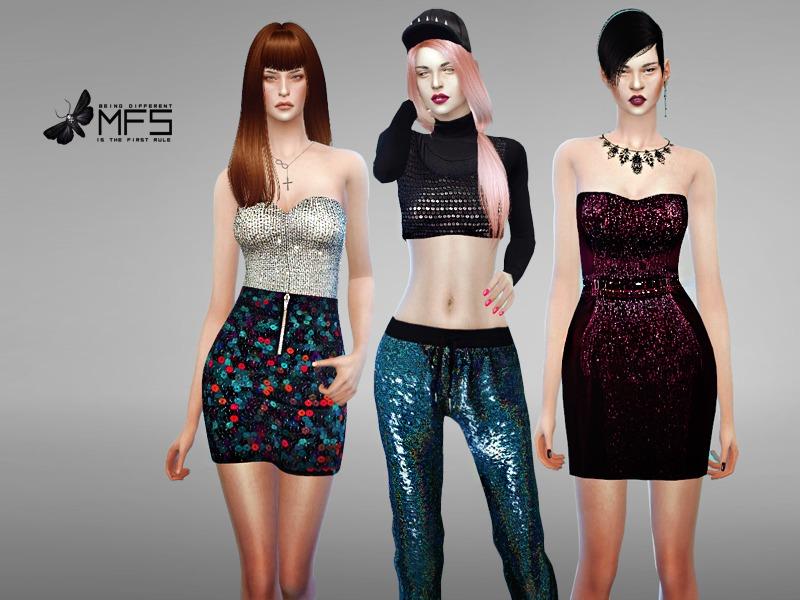 8371039e MissFortune's MFS Sequin Collection
