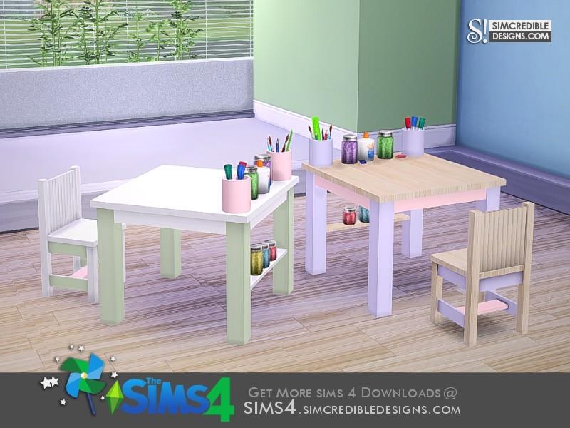 Simcredible S Paper Dream Creativity Table