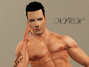 Sims 3 — Nick Monico by khewitt5 — Nick Monico Is a hot, sexy sim waiting for a new life created by you! No sliders or
