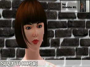 Sims 3 — Suzy Thorne by Diablo_SL — Suzy Thorne-This pretty chick has a big hope in her future life.She wanna live with