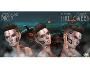 Sims 4 — Halloween MakeUp  Set1 by Nysk —