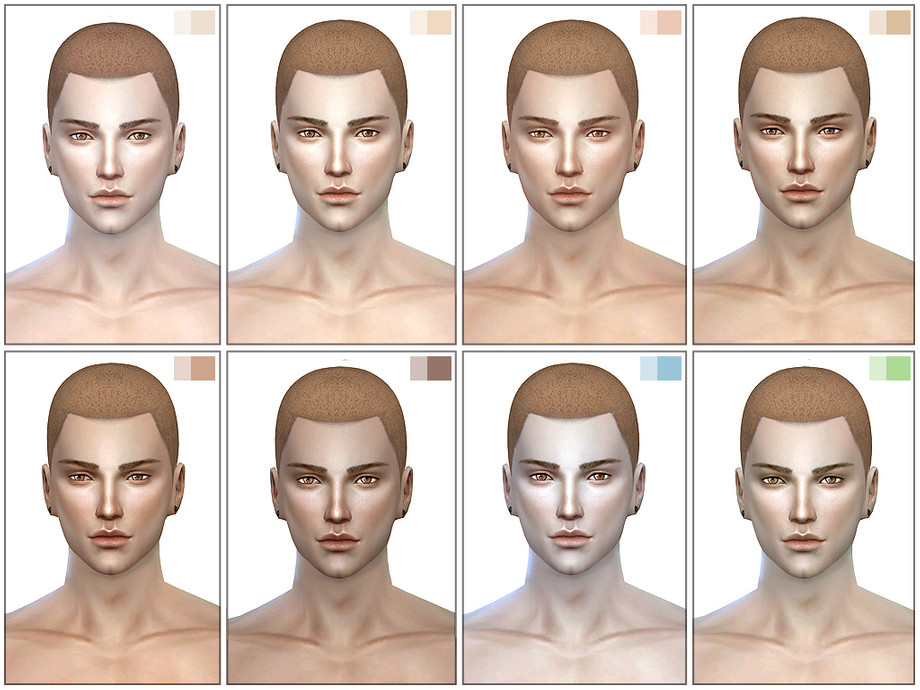 S-Club ts4 WMLL COLOURS skintones MB 2.0 - The Sims 4 Catalog