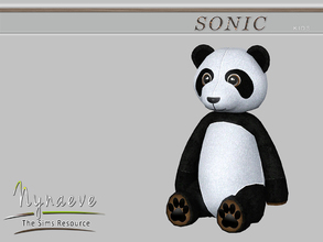 Sims 3 — YueLiang Panda by NynaeveDesign — Sonic Kids - YueLiang Panda Located in: Kids - Miscellaneous Price: 250 Tiles: