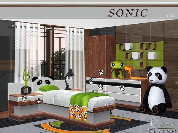 nynaevedesign s sonic kids my sims 3 blog mao bedroom set by zveki