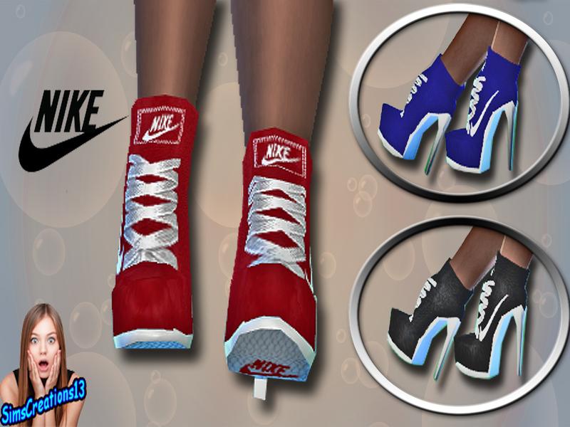 cc sims 4 chaussure nike