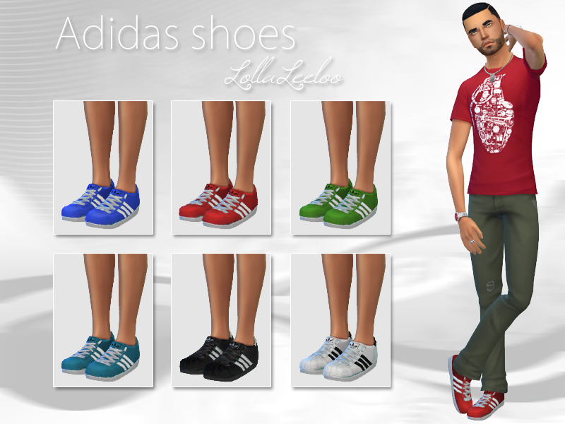 Male Adidas Shoes By Lollaleeloo