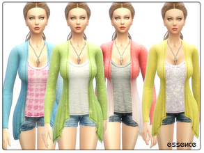 Sims 4 — All I Want by simseviyo — Daily outfit with soft cashmere touch