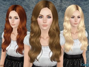 Sims 3 — Raindrops - Female Hairstyle TE by Cazy — Hairstyle for Female, Teen through Elder. LODs included.