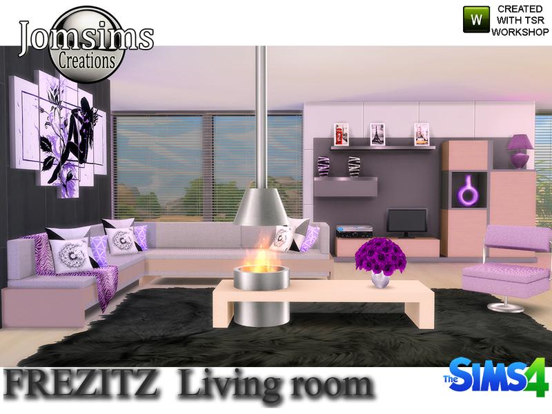 jomsims' frezizt modern living room