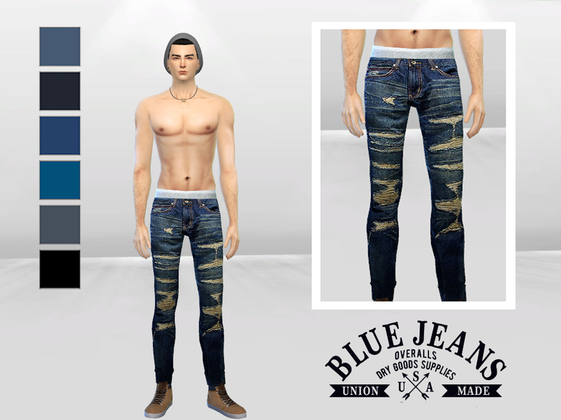Mclaynesims Save The King Ripped Skinny Jeans