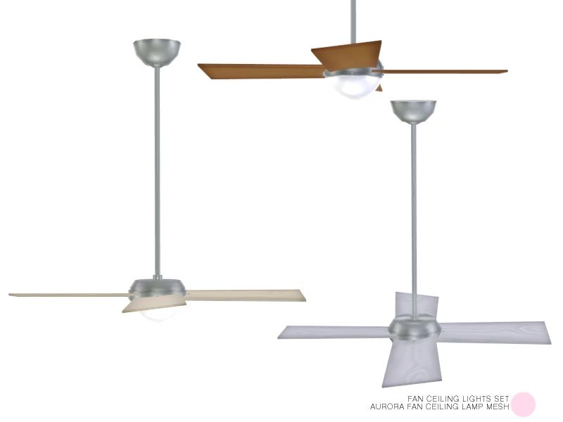 Dot S Aurora Fan Ceiling Lamp Mesh