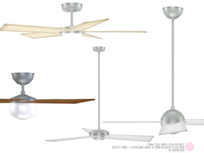 Dot S Fan Ceiling Lights Set