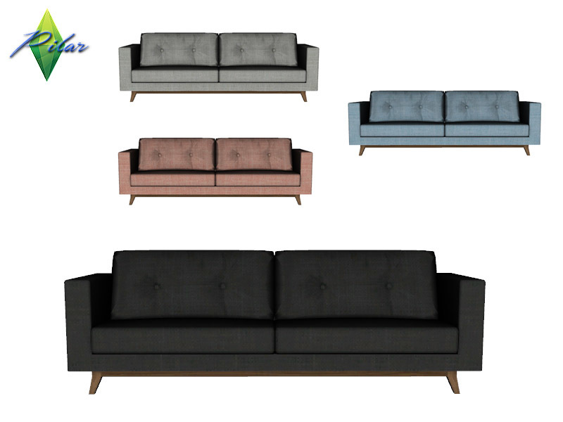 Pilar S Collector Sofa