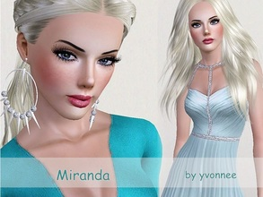 Sims 3 — Miranda by yvonnee2 — Miranda - She is new in Sunset Valley. She likes music and dance.She needs a new job and
