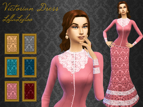 Sims 4 Clothing Sets Victorian