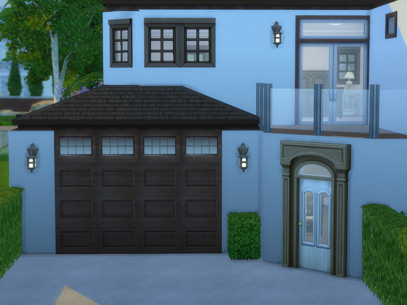 Sarahstar 13 39 s garage wall v3 for Sims 4 garage