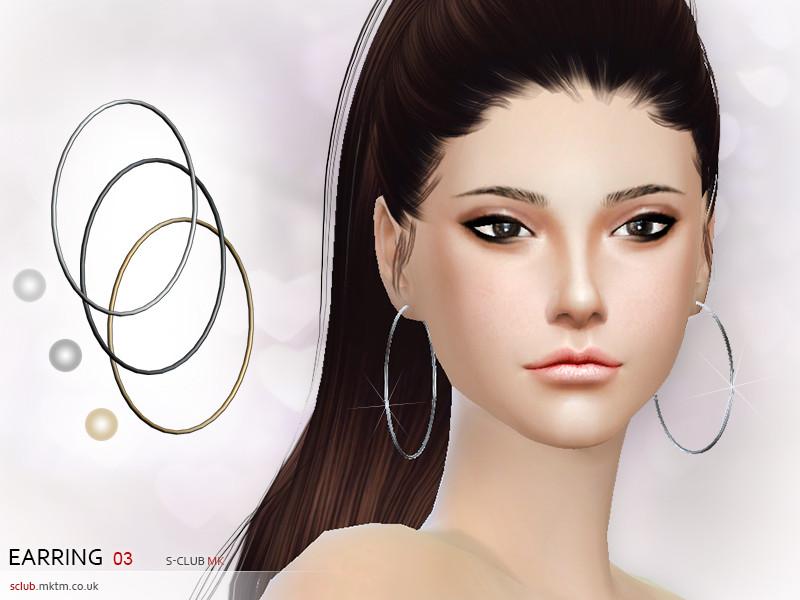 S-Club MK TS4 - Earring N3