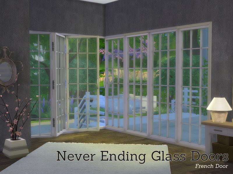 Angela S Never Ending Glass Door Buildset