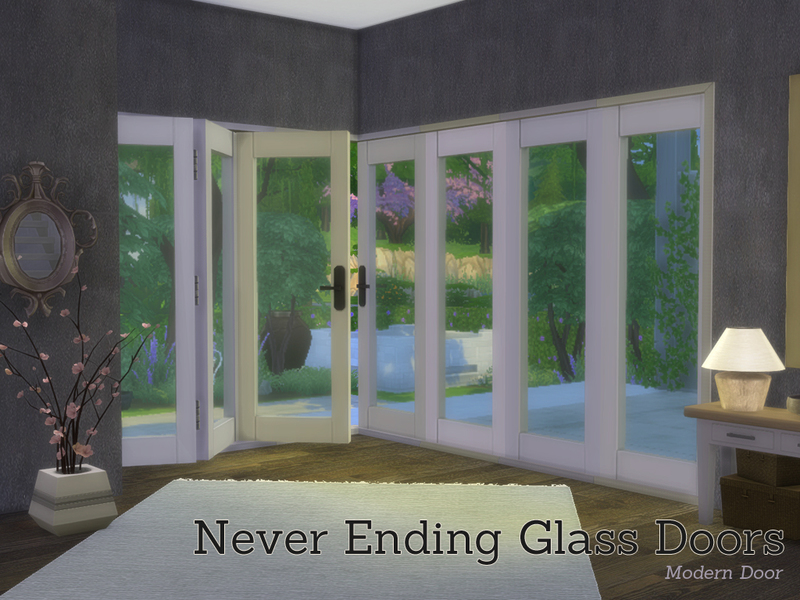 Angela S Never Ending Glass Door Buildset