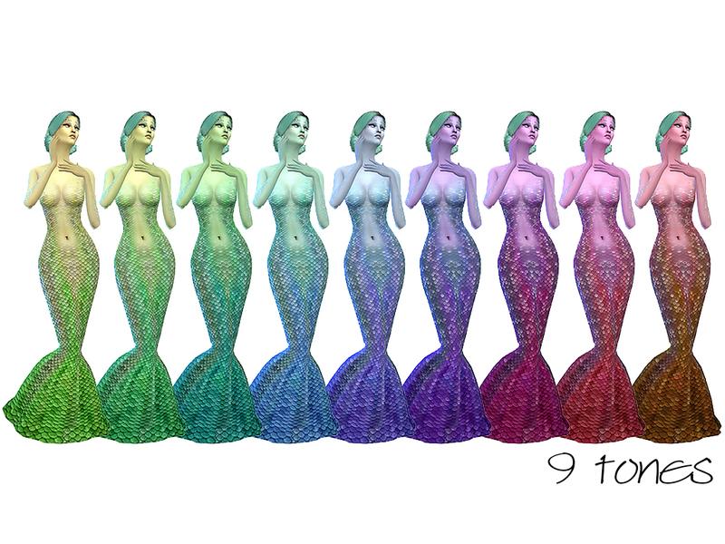 Ms Blue S Rainbow Skintone Set