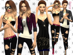 Simsimay's Sims 4 Clothing sets