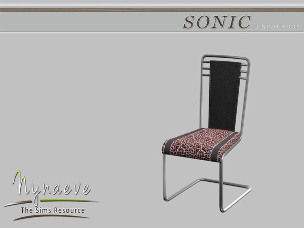 nynaevedesign 39 s sonic dining chair. Black Bedroom Furniture Sets. Home Design Ideas