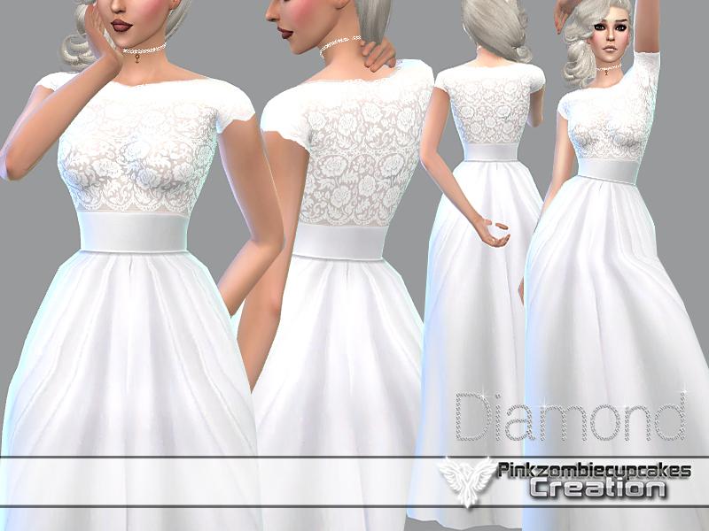 Pinkzombiecupcakes' PZC_Diamond Wedding Gown