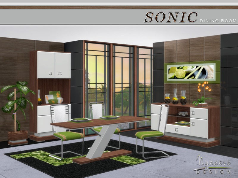Nynaevedesign S Sonic Dining Room